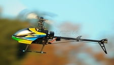 NEW Dynam 6-Ch 2.4Ghz Carbon Fiber E-Razor 450-3D Metal RC Helicopter RTF w/ Direct-Belt-Drive, 6CH Fully-Loaded Radio System, Lipo Battery, Brushless Motor+ESC