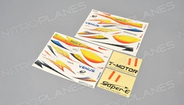 Colorful decals And self-adhesive paper