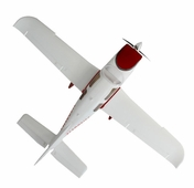 Extreme Detail 4-Channel AirField RC Sky Trainer 400 Radio Control Airplane w/ Brushless Motor/ESC/Lipo 100% RTF *Super Scale* EPO Foam Plane (Red)