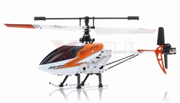 New Double Horse 9103 Infrared RC Micro Helicopter 3 Channel RTF + Transmitter with Gyro (Orange)
