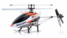 New Double Horse 9116 RC Helicopter 4 Channel 2.4Ghz RTF with Gyro + Flashing Head and Tail LED Lights + LED Transmitter