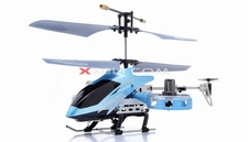 Zhengrun 4 Channel Co-axial RC Helicopter RTF w/ Built in Gyro (Blue)