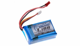 Blue Lipo 3-Cell 800mAh 11.1v 3S1P 20C RC Battery w/ JST Connector