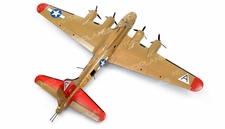 "NEW 7 Channel AirWingRC B-17 Bomber 63"" Scale Electric RC Warbird Kit (Yellow)"
