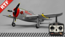 Dynam P47 Thunderbolt 4-Channel 2.4Ghz Ready-to-Fly 1220mm RC Warbird Plane