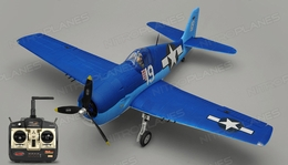 Dynam F6F Hellcat RC 5 Channel Warbird Ready to Fly WingSpan 1270mm