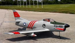 Modelbau F86 Sabre Dog Turbine Jet Kit