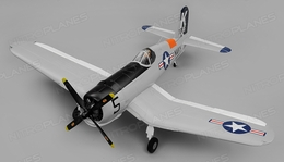 Airfield RC F4U Corsair 1450mm Warbird Airplane Kit Version 1450mm Wingspan(Grey)