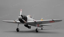 Airfield RC Plane 4 Channel Zero 800mm Almost Ready to Fly (Grey)