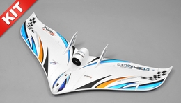 Tech One RC 3 Channel Neptune EDF RC Plane KIT Version w/Motor (Blue)