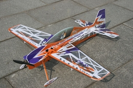 TechOne SBACH 342 4 Channel RC Depron RC Airplane KIT w/ Motor