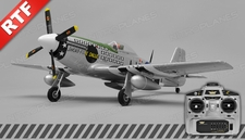 Airfield P51 4 Channel Warbird Ready to Fly 2.4Ghz 800mm Wingspan (Green)