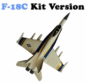 AirField RC F18C 64mm EDF Jet Kit (White)