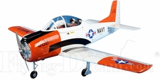 "T-28 Trojan - 55"" EP-Powered RC Warbird Plane ARF"