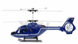 New Art Tech RC 400 Class EC-135 Double Rotor Helicopter 2.4Ghz RTF