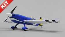"Aerosky 4 Channel Extra 330SC Special Edition 55"" Sports Aerobatic Brushless RC Airplane Kit (Blue)"