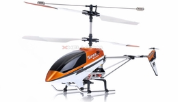 Double Horse 9051 3-Channel Super Metal Frame RC Helicopter w/ Built in Gyro & Flashing LED Lights