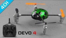Walkera Ladybird V2 Devo 4 Ready to Fly RC Mini Quad 4 Channel