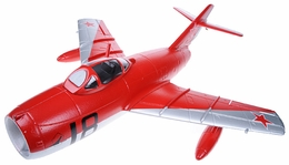 Exceed RC Mini 50MM MIG-15 High Performance Ducted Fan RC Jet Receiver-Ready w/ Brushless Motor/ESC (Red ARF)