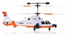 Double Horse 9059B 3 Channel Gunship Military RC Helicopter w/ Built in Gyro & Flashing Balance Bar