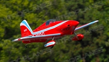 "New 5 Channel AeroSky Midget Mustang 55"" Scale Remote Control Plane ARF (Red)"