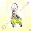 LEMON LACE SPARKLING YELLOW handcrafted facet earrings