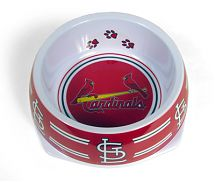 St. Louis Cardinals MLB Licensed Dog Bowl