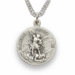 Women's's Nickel Silver Air Force Medal, St. Michael on Back
