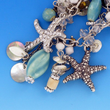 Silver Beach Necklace-Starfish