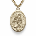 14K Gold Filled St. Christopher Medals