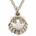 Sterling Silver Baby Dove Shell