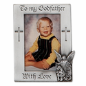 Fine Pewter Godfather Photo Frame