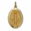 14K Gold Miraculous Medals
