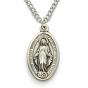 Sterling Silver Miraculous Medals