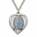 Enameled Miraculous Medals