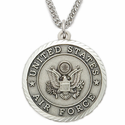 Women's Sterling Silver Military Medals