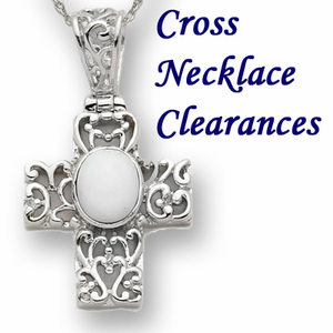 Cross Necklaces Clearance
