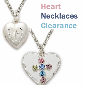 Heart Necklace Clearances