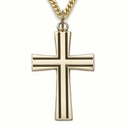 24K Gold over Sterling Silver Crosses