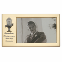 """8"""" x 4 1/2"""" Grandson's First Holy Communion Metal Photo Frame with Chalice"""