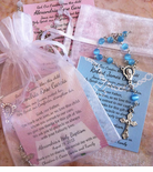 Baptism Rosary Favors