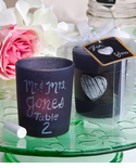 School Party Theme Chalkboard Candle Favors