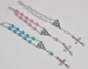 Mini Rosary Favors in Organza Bag