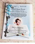 Baptism Remembrance Cards and Prayer Cards