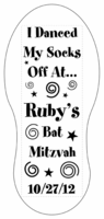 Bar Mitzvah Grippy Socks