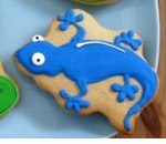 Lizard Cookie for Reptile Party