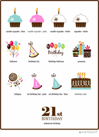 Birthday Hot Chocolate Favors - Personalized