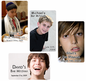 Photo Bar Mitzvah Playing Cards