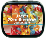 Birthday Mint Tin Favors - Many Designs