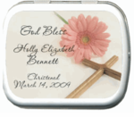 Baptism Mint Tins